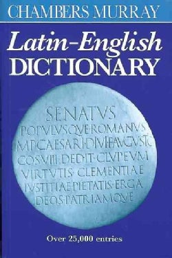 Chambers Murray Latin-English Dictionary (Paperback)