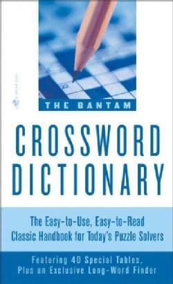 Bantam Crossword Dictionary (Paperback)