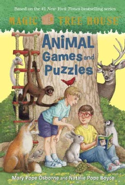 Animal Games and Puzzles (Paperback)