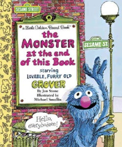 The Monster at the End of This Book (Board book)