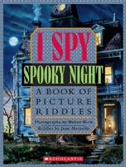 I Spy Spooky Night: A Book of Picture Riddles (Hardcover)