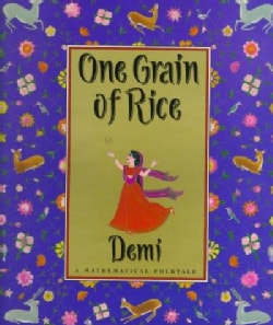 One Grain of Rice: A Mathematical Folktale (Hardcover)
