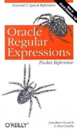Oracle Regular Expressions Pocket Reference (Paperback)