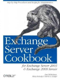 Exchange Server Cookbook (Paperback)