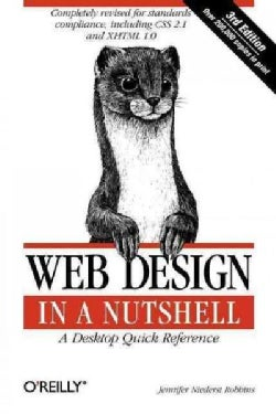 Web Design in a Nutshell: A Desktop Quick Reference (Paperback)
