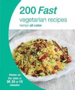 200 Fast Vegetarian Recipes (Paperback)
