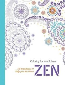 Zen: 50 Mandalas to Help You De-Stress (Paperback)