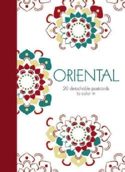 Oriental: 20 Detachable Postcards to Color in (Postcard book or pack)