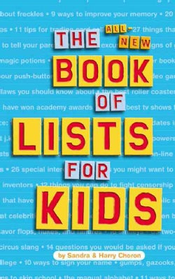The All-New Book of Lists for Kids (Paperback)