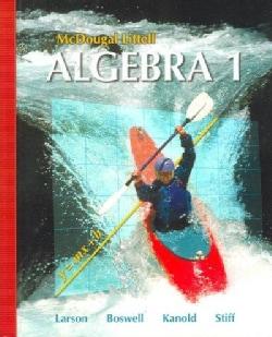Algebra 1, Grade 9: Mcdougal Littell High School Math (Hardcover)