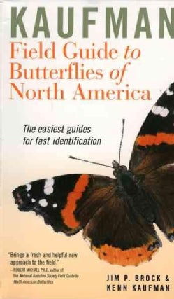 Kaufman Field Guide to Butterflies of North America (Paperback)