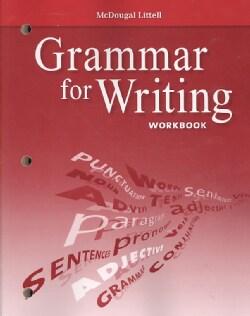 Grammar for Writing Workbook Grade 7 (Paperback)