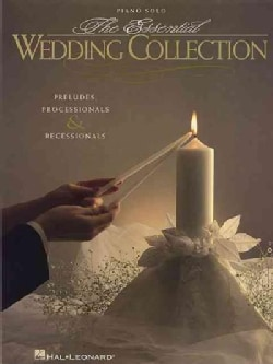The Essential Wedding Collection: Piano Solo (Paperback)