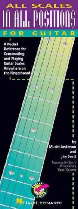 All Scales in All Positions for Guitar: A Pocket Reference for Constructing and Playing Guitar Scales Anywhere on... (Paperback)