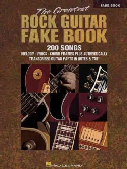 The Greatest Rock Guitar Fake Book (Paperback)