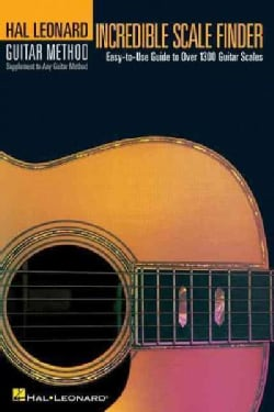 Incredible Scale Finder: Easy-To-Use Guide to over 1300 Guitar Scales (Paperback)