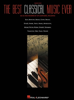 The Best Classical Music Ever: Piano Solo (Paperback)