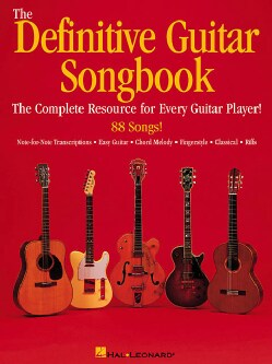 The Definitive Guitar Songbook (Paperback)