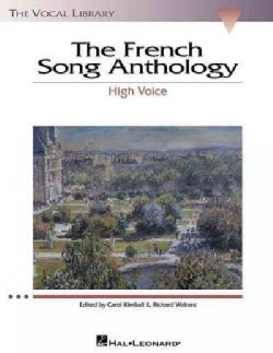 The French Song Anthology: High Voice (Paperback)