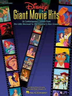 Disney Giant Movie Hits: 36 Contemporary Classics from the Little Mermaid to the Emperor's New Groove (Paperback)