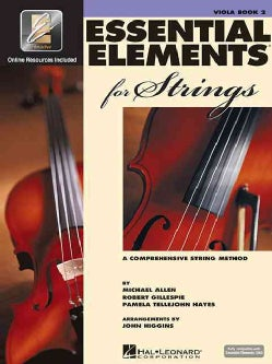 Essentials Elements for Strings: A Comprehensive String Method : Viola, Book Two