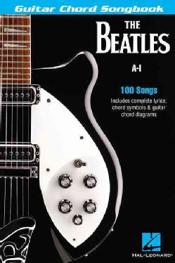 The Beatles Guitar Chord Songbook A-I (Paperback)