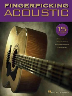 Fingerpicking Acoustic: 15 Songs Arranged for Solo Guitar in Standard Notation & Tab (Paperback)