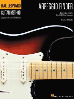 Arpeggio Finder: Easy-to-use Guide to over 1,300 Guitar Arpeggios Hal Leonard Guitar Method (Paperback)
