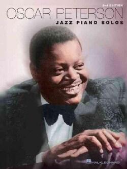 Oscar Peterson: Jazz Piano Solos (Paperback)