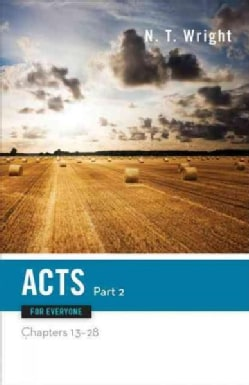 Acts for Everyone: Chapters 13-28 (Paperback)