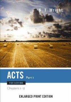 Acts for Everyone: Chapters 1-12 (Paperback)