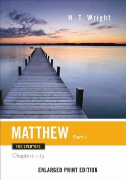 Matthew for Everyone: Chapters 1-15 (Paperback)