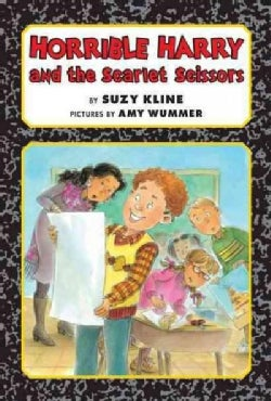 Horrible Harry and the Scarlet Scissors (Hardcover)