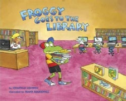 Froggy Goes to the Library (Hardcover)