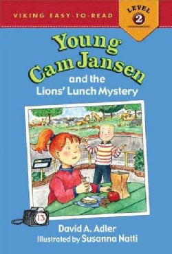 Young Cam Jansen and the Lions' Lunch Mystery (Hardcover)
