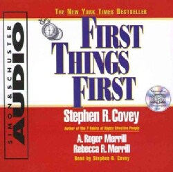 First Things First (CD-Audio)