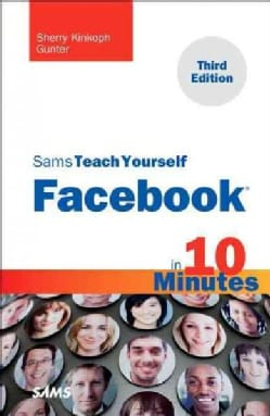 Sams Teach Yourself Facebook in 10 Minutes (Paperback)