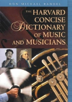 The Harvard Concise Dictionary of Music and Musicians (Paperback)