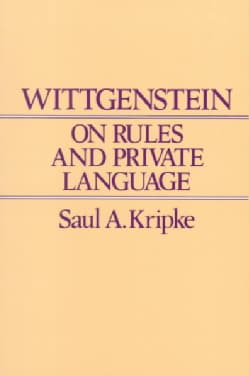 Wittgenstein on Rules and Private Language (Paperback)
