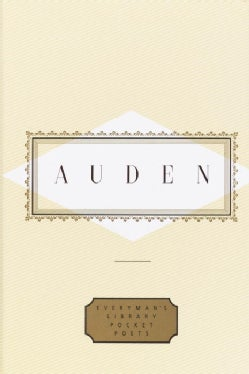 Auden: Poems (Hardcover)