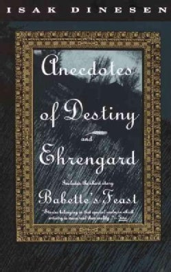 Anecdotes of Destiny and Ehrengard: And, Ehrengard (Paperback)