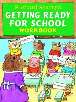 Richard Scarry's Getting Ready for School Workbook (Paperback)