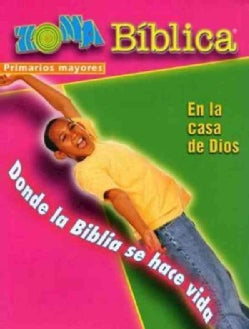 Zona Biblica En la Casa de Dios / Bible Zone In God's House (Hardcover)