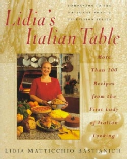 Lidia's Italian Table (Hardcover)