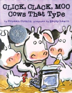 Click, Clack, Moo: Cows That Type (Hardcover)