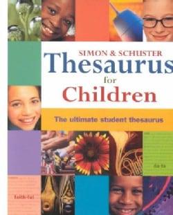 Simon & Schuster Thesaurus for Children (Hardcover)