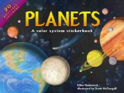 Planets: A Solar System Stickerbook (Hardcover)