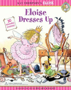 Eloise Dresses Up: 50 reusable Stickers! (Paperback)