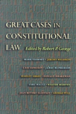 Great Cases in Constitutional Law (Paperback)