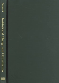 Institutional Change and Globalization (Paperback)